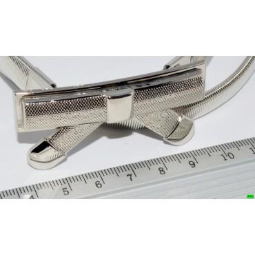 Ремень (01-25) серебро 1шт.
