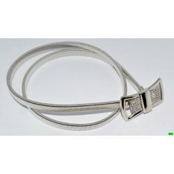 Ремень (01-23) серебро 1шт.
