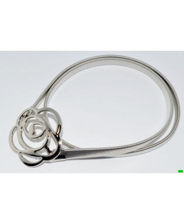 Ремень (01-26) серебро 1шт.