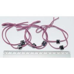 резинка  (02-48) розовая 5шт.