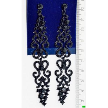 сережки (01-04) чорний 1шт.