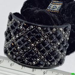 резинка (03-45) чёрная 1шт.