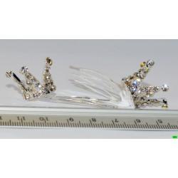 гребешок (01-04) серебро малый 1шт.