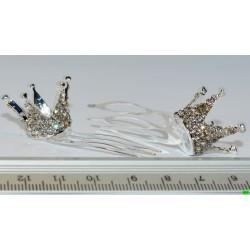 гребінчик (01-05) срібло малий 1шт.