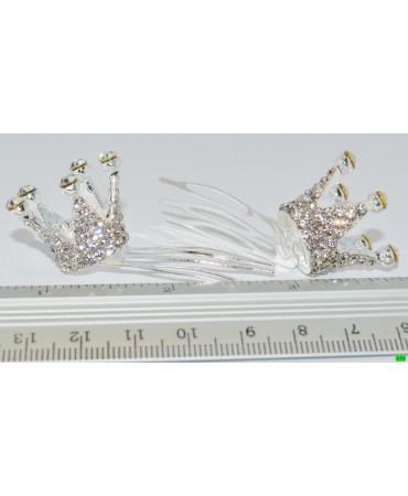 гребешок (01-08) серебро малый 1шт.