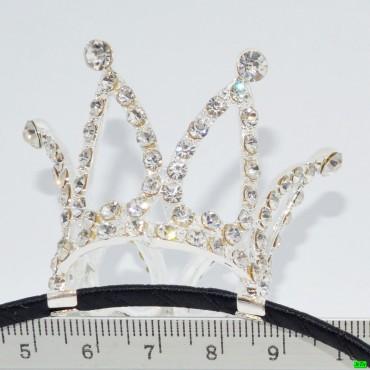 обруч (02-55) серебро большой 1шт.