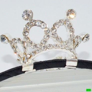 обруч (02-58) серебро средний 1шт.