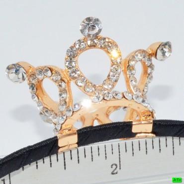 обруч (02-58) золото средний 1шт.