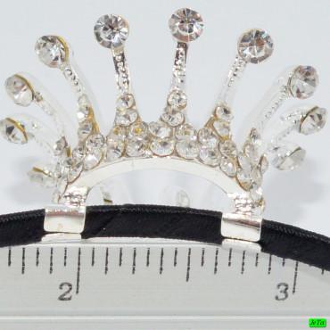 обруч (02-59) серебро средний 1шт.