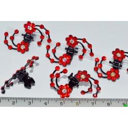 краб (01-50) красный 6шт.