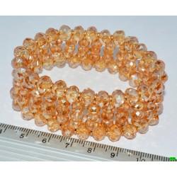 браслет (01-37) янтарь 1шт.