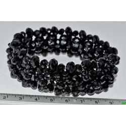 браслет (01-35) чёрный 1шт.