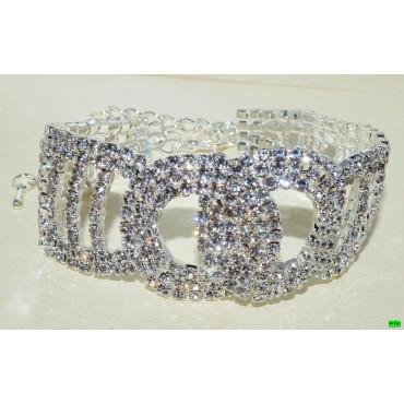 браслет (01-38) серебро 1шт.