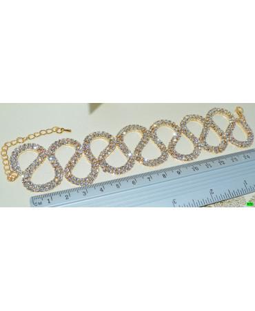 браслет (01-40) золото 1шт.