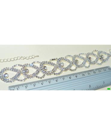 браслет (01-41) серебро 1шт.