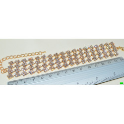 браслет (01-42) золото 1шт.