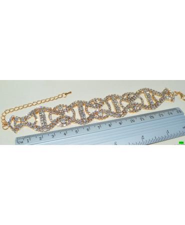браслет (01-43) золото 1шт.