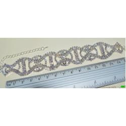 браслет (01-43) серебро 1шт.