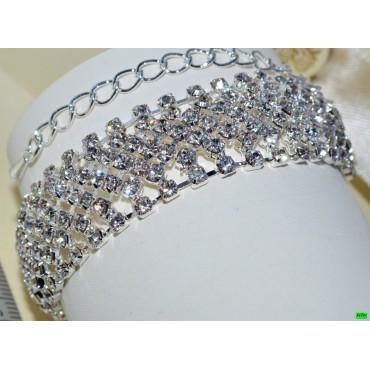браслет (01-45) серебро 1шт.