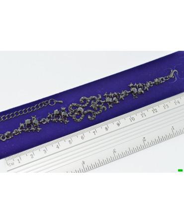 браслет (01-70) чёрный 1шт.