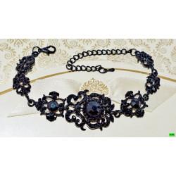 браслет (01-71) чёрный 1шт.