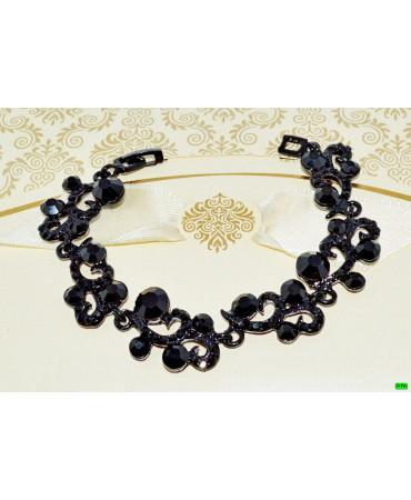 браслет (01-73) чёрный 1шт.