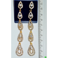 сережки (01-74) золото 1шт.