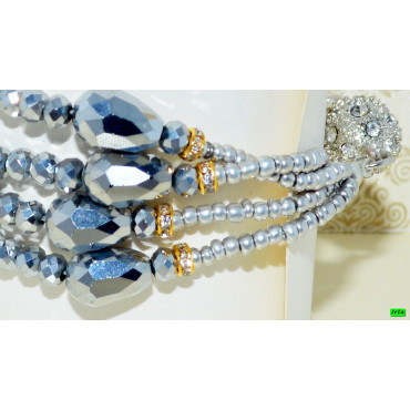 браслет (01-90) металик 1шт.