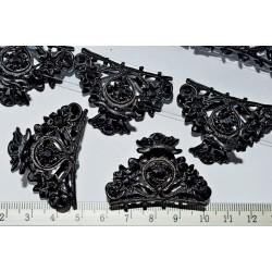 краб (01-07) чорний 2шт.