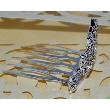гребешок (01-11) серебро средний 1шт.