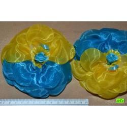 бантик (01-06) голубой 2шт.