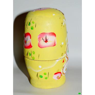 Матрёшка (01-00) жёлтый