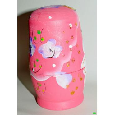 Матрёшка (01-00) розовый