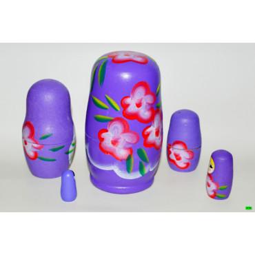 Матрёшка (01-01) фиолет