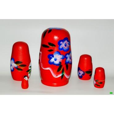 Матрёшка (01-01) красный