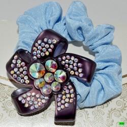 резинка (03-20) фиолет 1шт.