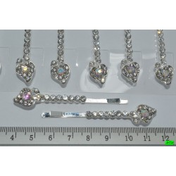 невидимка (01-09) серебро 4шт.
