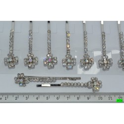 невидимка (01-10) серебро 4шт.