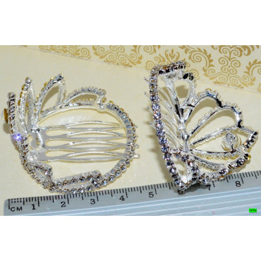 гребешок (01-25) серебро 1шт.