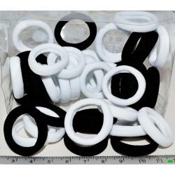 резинка (03-79) чёрная 40шт.