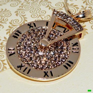 кулон (02-35) золото 1шт.