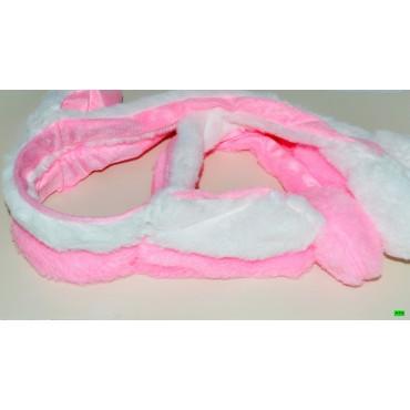 детский обруч (01-50) розовый 1шт.
