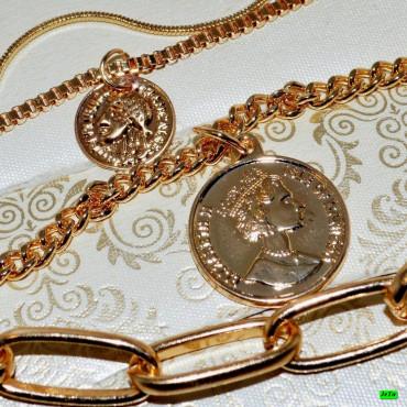 кулон (01-30) золото 1шт.