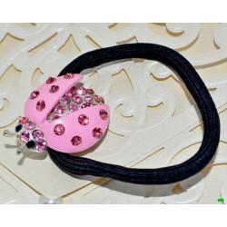 Резинка (02-69) розовая 1шт.