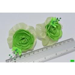 бантик (01-10) зелёный 2шт.