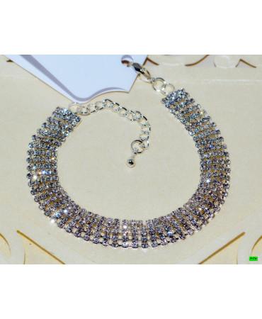 браслет (01-65) серебро 1шт.