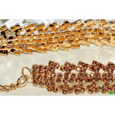 браслет (01-64) золото 1шт.