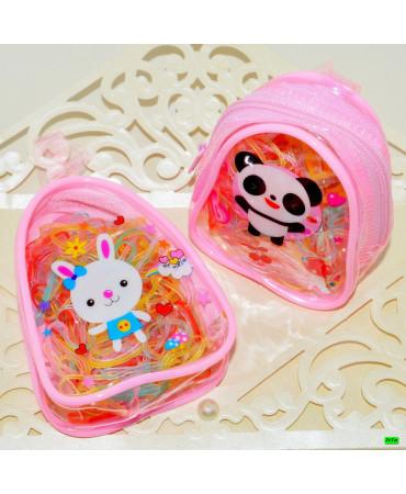 Детская резинка (02-14) прозрачная 3шт.