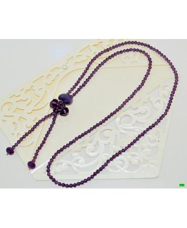 бусы (01-35) фиолет 1шт.