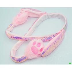 детский обруч (01-48) розовый 1шт.